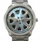 Mercedes Benze E420 Car Tyre Unisex Sport Metal Watch