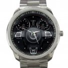 Volkswagon GTI  Steering Wheel Unisex Sport Metal Watch