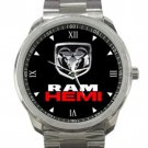 Dodge Ram 1500 Hemi Logo Unisex Sport Metal Watch