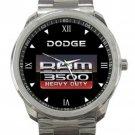 Dodge Ram 3500 Heavy Duty Logo Unisex Sport Metal Watch