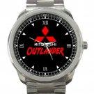 Mitsubishi Outlander Car Logo Unisex Sport Metal Watch