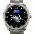 Ford Falcon Sprint Car Logo Unisex Sport Metal Watch