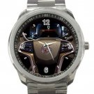 2013 Cadillac ATS Steering Wheel Unisex Sport Metal Watch