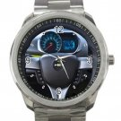 2013 Chevrolet Spark Steering Wheel Unisex Sport Metal Watch