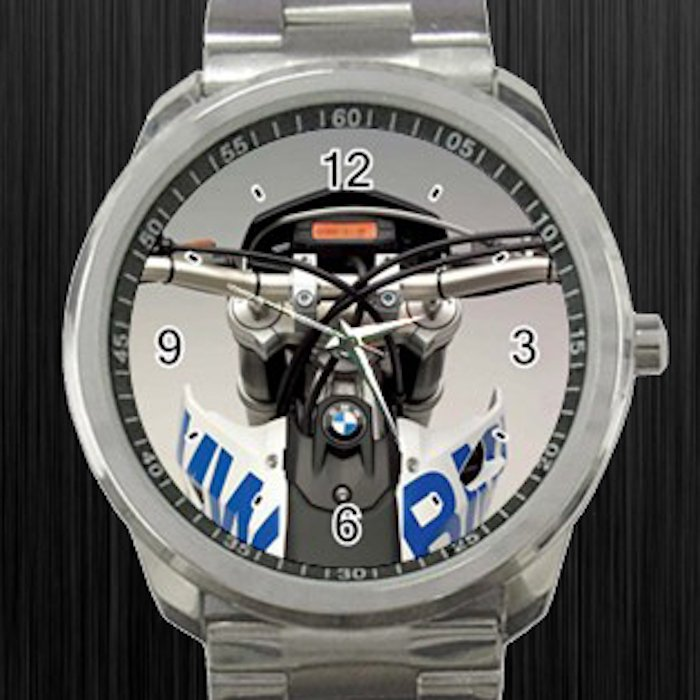 2008 BMW G450X Cockpit Motorcycle Unisex Sport Metal Watch