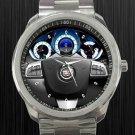 2011 Cadillac SRX Steering Wheel Unisex Sport Metal Watch