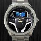 2011 Chevy Volt Chevrolet Steering Wheel Unisex Sport Metal Watch