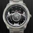 2011 Jaguar XJ 7 Steering Wheel Unisex Sport Metal Watch