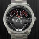 2011 Mazda 3 5DR Auto S Grand Touring Steering Wheel Unisex Sport Metal Watch