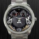 2011 Mitsubishi Outlander Steering Wheel Unisex Sport Metal Watch