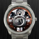 2011 Vilner Mini Cooper Italian Job Steering Wheel Unisex Sport Metal Watch