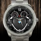 2012 BMW X6 AWD 4 Door 35i Steering Wheel Unisex Sport Metal Watch