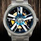 2012 Fisker Karma Wheel RIM Unisex Sport Metal Watch