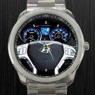 2012 Hyundai Tucson GLS Steering Wheel Unisex Sport Metal Watch