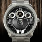 2012 Mercedes Benz CLS Class 4 Door Sedan Steering Wheel Unisex Sport Metal Watch