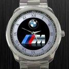 BMW Series Racing Logo Unisex Sport Metal Watch