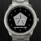 New Chrysler LLC Pentastar Logo Car Unisex Sport Metal Watch
