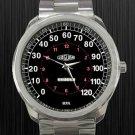 New Hot Jaguar Speedo Meter Classic Car Unisex Sport Metal Watch