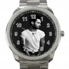 Adam Levine  Black & White Photo Unisex Sport Metal Watch
