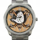 Anaheim Ducks NHL Ice Hockey Teams Unisex Sport Metal Watch