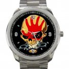 Five Finger Death Punch 5FDP Knuckles Unisex Sport Metal Watch