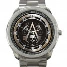 Assassin's Creed Black Flag Unisex Sport Metal Watch