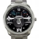 2013 Ford Mustang Shelby GT500 Coupe Steering Wheel Unisex Sport Metal Watch