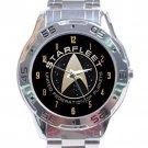 Star Trek Starfleet Gold Logo Stainless Steel Analogue Watch