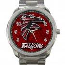 Atlanta Falcons NFL Football Team Unisex Sport Metal Watch