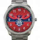 Atlanta Hawks NBA Basketball Team Unisex Sport Metal Watch