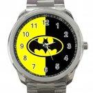 Batman Logo Superhero Justice League Unisex Sport Metal Watch