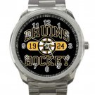 Boston Bruins NHL Ice Hockey Teams Unisex Sport Metal Watch