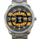 Boston Bruins NHL Ice Hockey Teams Logo 4 Unisex Sport Metal Watch