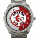Boston Red Sox MLB Baseball Team Logo 2 Unisex Sport Metal Watch