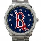 Boston Red Sox MLB Baseball Team Logo 4 Unisex Sport Metal Watch