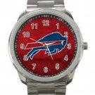Buffalo Bills NFL Football Team Unisex Sport Metal Watch