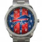 Buffalo Bills NFL Football Team Logo 2 Unisex Sport Metal Watch