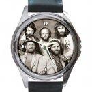 The Beach Boys Classic Retro Rock Band Unisex Round Silver Metal Watch