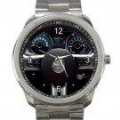 2013 Ford Mustang Steering Wheel Unisex Sport Metal Watch