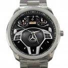 2016 Mercedes SL Class Steering Wheel Unisex Sport Metal Watch