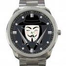 V For Vendetta Unisex Sport Metal Watch