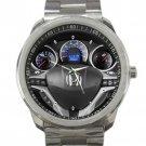 2009 Honda Fit Steering Wheel Unisex Sport Metal Watch