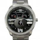 2007 Ford Mustang Steering Wheel Unisex Sport Metal Watch