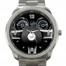 2014 Ford Mustang Steering Wheel Unisex Sport Metal Watch