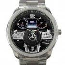 2013 Mercedes Benze Steering Wheel Unisex Sport Metal Watch