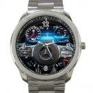 2018 Mercedes Benze Steering Wheel Design 3 Unisex Sport Metal Watch