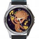 Baby Groot Unisex Round Silver Metal Watch