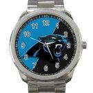 Carolina Panthers NFL Football Team  Logo 1 Unisex Sport Metal Watch