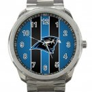Carolina Panthers NFL Football Team  Logo 2 Unisex Sport Metal Watch
