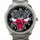Chicago Bulls NBA Basketball Team Logo 1 Unisex Sport Metal Watch